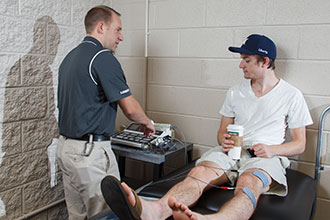 Facility Gives Club Sports Athletes More Injury Rehab