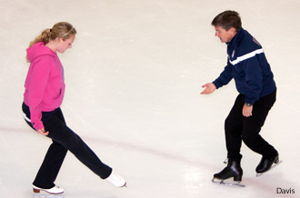 Olympic Figure Skater Teaches Seminar
