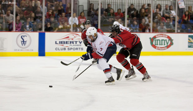 Liberty beat the Atlanta Jr. Knights 8-4 in their first matchup Friday. test test test test