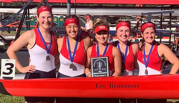 The women's Novice 4 crew won its fourth gold medal of the season and first for any Liberty team at nationals in recent years. test test test test