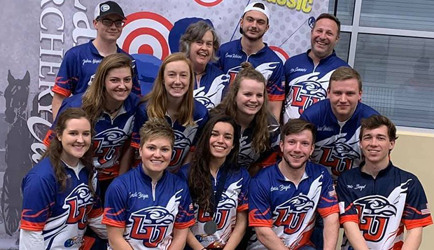 Liberty brought a strong contingent of archers to Lancaster, Pa., over the weekend. (Photos courtesy of Amy Skelton) test test test test