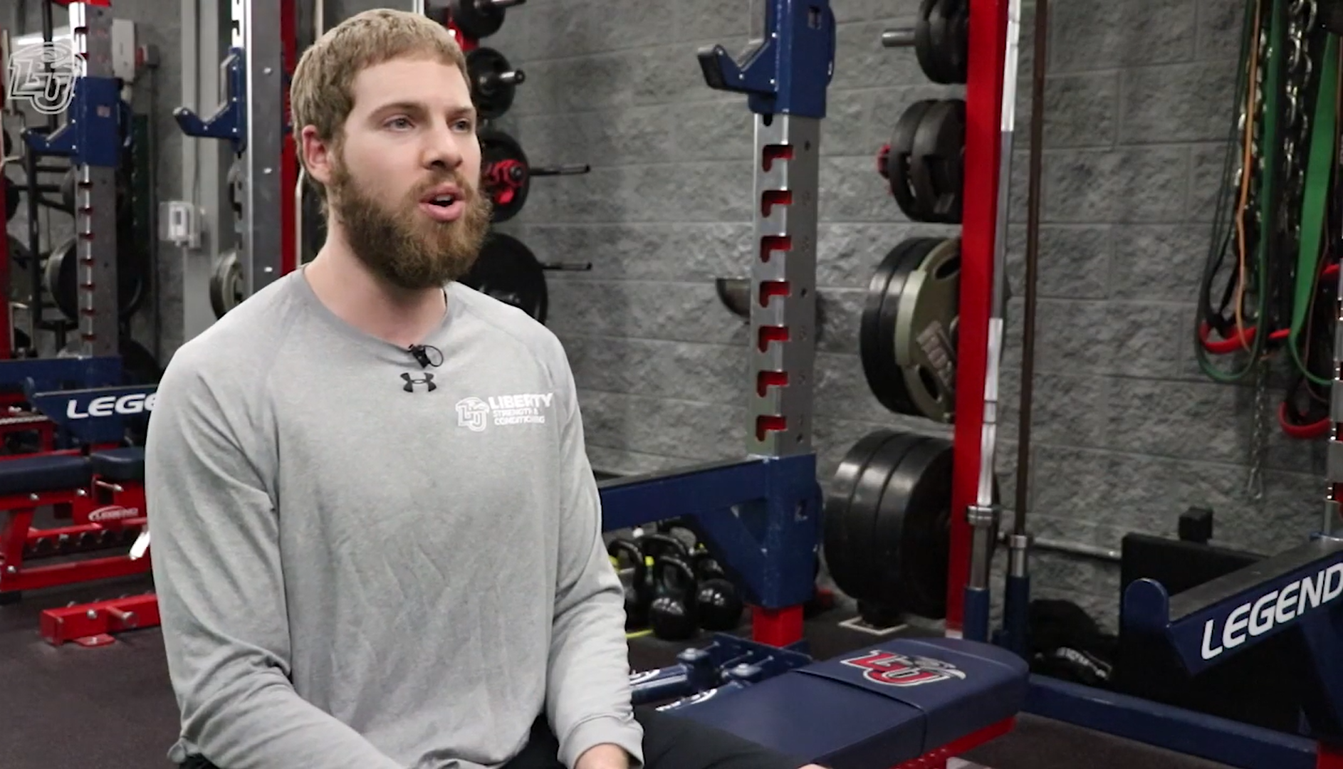 Chris Kerr, who graduated from Liberty with a degree in Exercise Science in 2014, has served as Club Sports Coordinator of Strength & Conditioning ever since. test test test test