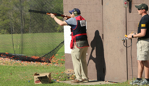 Josh Lancaster placed 15th in the International Bunker Trap event and 28th in the International Skeet. (Submitted photo by Sarah Crabtree) test test test test