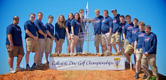 Disc Golf team qualifies for nationals test test test test