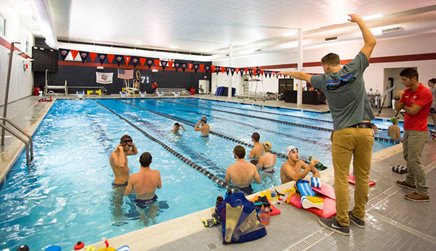Grishaw promoted to head coach of men's swimming team test test test test