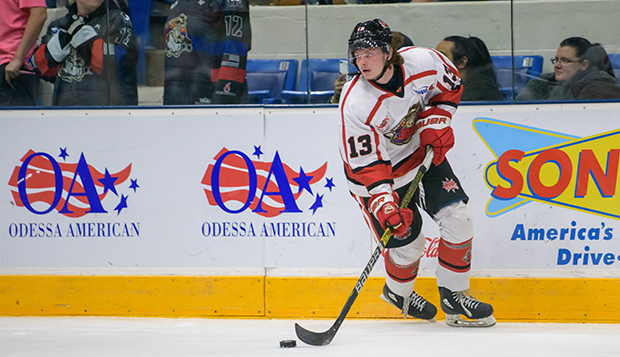 Josh Fricks played the past two seasons in the North American Hockey League, this fall with the Odessa (Texas) Jackalopes. test test test test