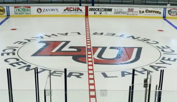 Time-lapse video shows LaHaye Ice Center surface redesign