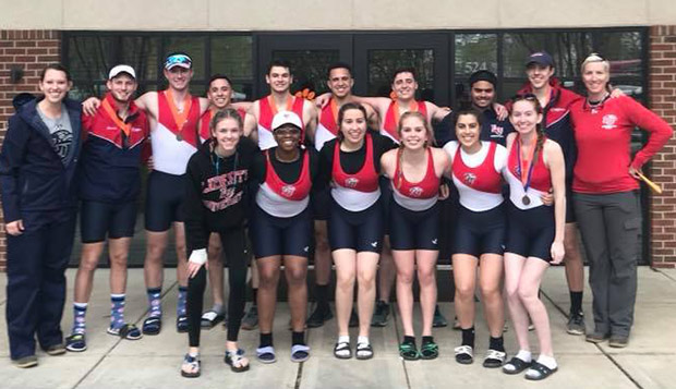 Flames crews row to three bronze medals at Clemson Sprints test test test test