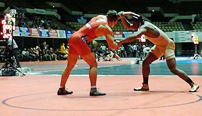Flames fall twice to Ferrum, finish fourth at Virginia Duals