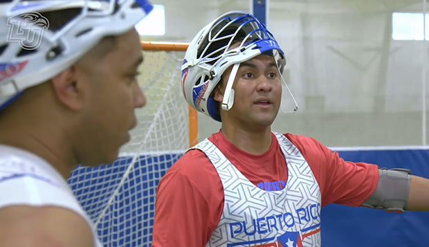 Game On segment features Puerto Rico Lacrosse founders test test test test