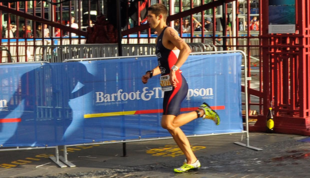Parker Spencer finished eighth in his age group, first for the U.S., in the Sprint Race at the World Age Group Triathlon Championships in Auckland, New Zealand. test test test test