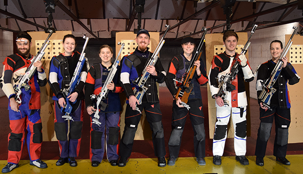 Rifle team sweeps events at UVA; Feaga wins JO national bid test test test test
