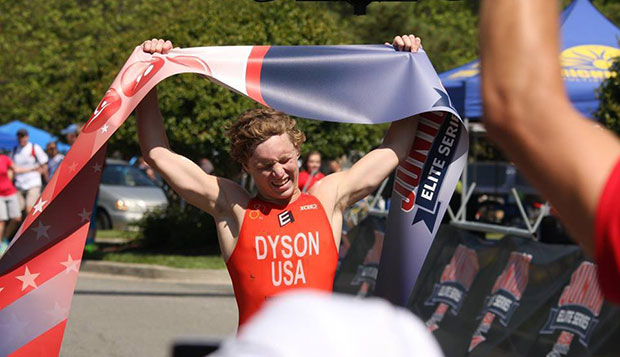 Stone Dyson, a professional triathlete who trained under Parker Spencer at Endorphin Fitness in Richmond, Va., will join the Flames cycling and triathlon teams in January. test test test test