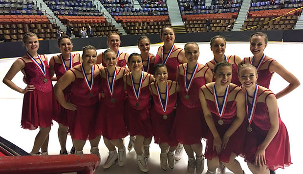 Synchronized skaters capture bronze at Eastern Sectionals test test test test