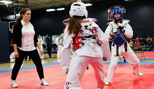 Taekwondo teams gaining momentum, athletes rising ranks test test test test