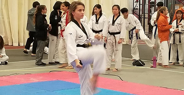 Taekwondo athletes open with strong team showings at MIT test test test test
