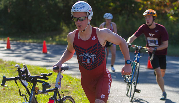 Travis Fehr returns for his junior season as one of the Flames' top five triathletes on a much-improved men's team. test test test test