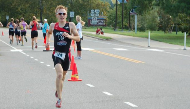 Anderson takes first place in triathlon opener test test test test