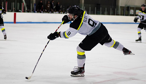 Tristan Slot, a two-way defenseman, scored 10 goals and distributed 37 assists over the past two seasons with the WSHL's Utah Outliers. (Photos courtesy of Bayleigh Schroeder) test test test test