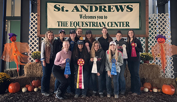 Liberty's Western equestrian team placed second behind only Virginia Tech at its first show at reigning Region 4 champion St. Andrews (N.C.) on Sunday. test test test test