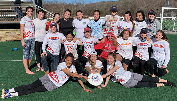 Lady Flames Ultimate holds seed at Commonwealth Cup test test test test