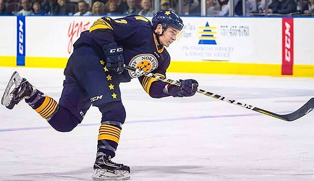 Schartz re-signs with ECHL's Norfolk Admirals for 2018-19 test test test test
