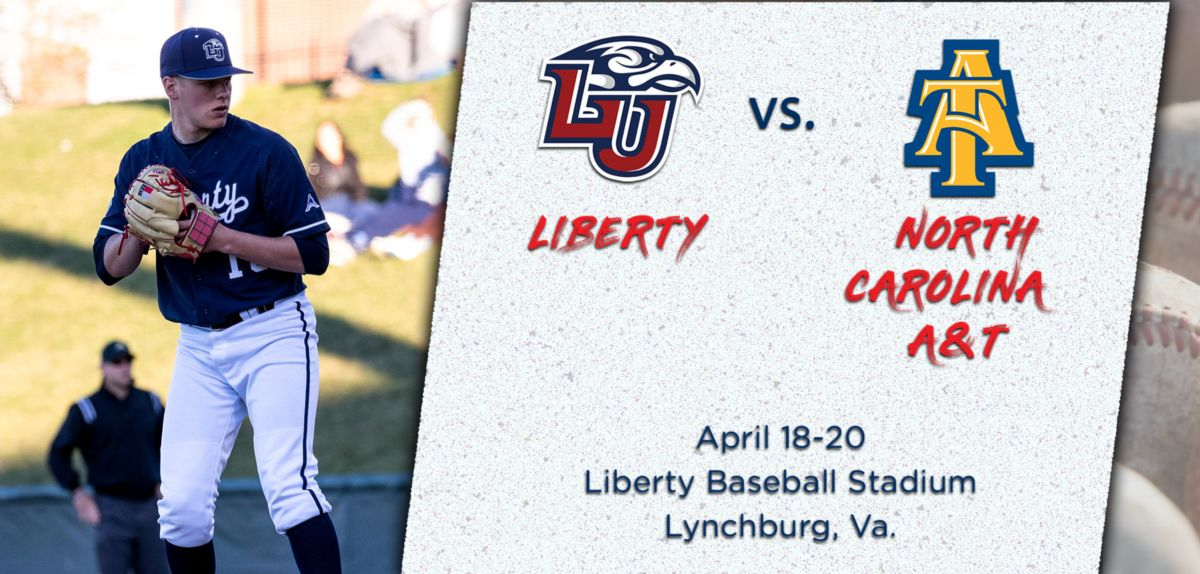 Liberty to Host North Carolina A&T for Weekend Series