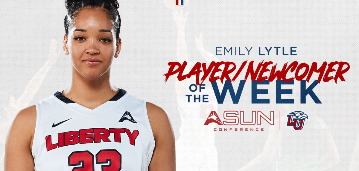 Lytle Sweeps ASUN WBB Player and Newcomer of Week Honors