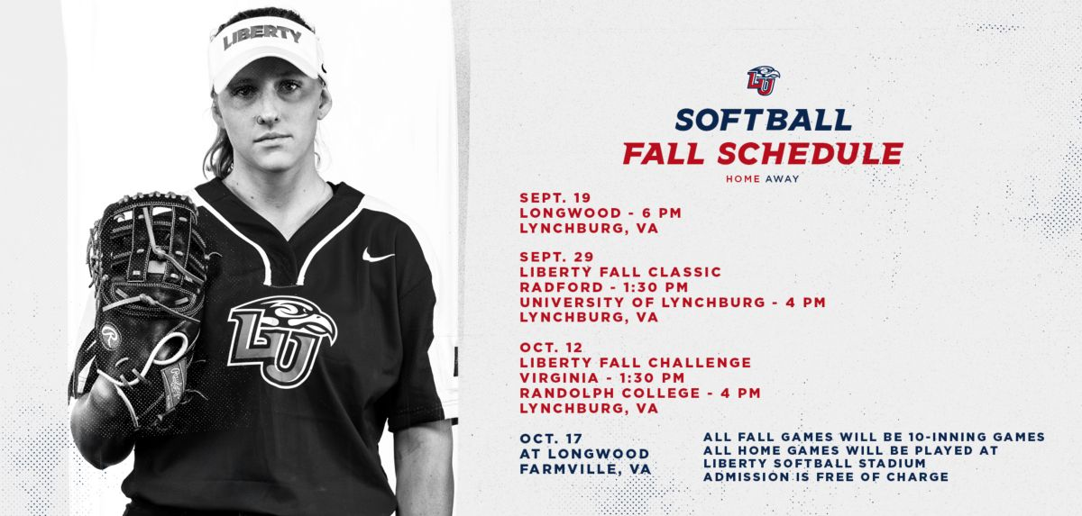 Liberty Softball Announces 2019 Fall Schedule