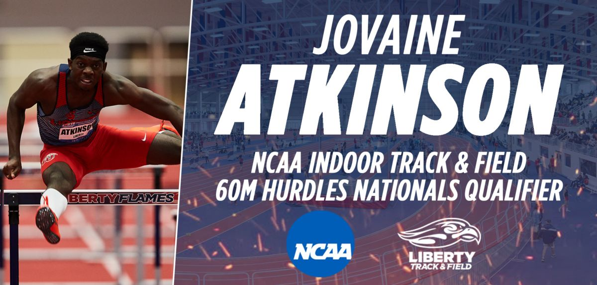 Atkinson Qualifies for NCAA Meet in 60 Hurdles