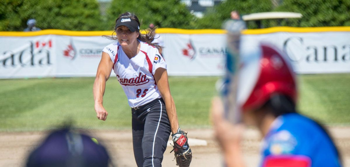 Friesen Continues to Shine on International Stage for Softball Canada