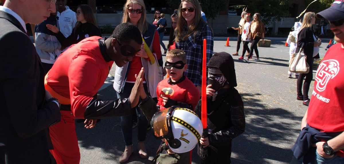 The month of October featured the sixth annual Spooktacular Kids Carnival on the Saturday of Homecoming Weekend (Oct. 13).