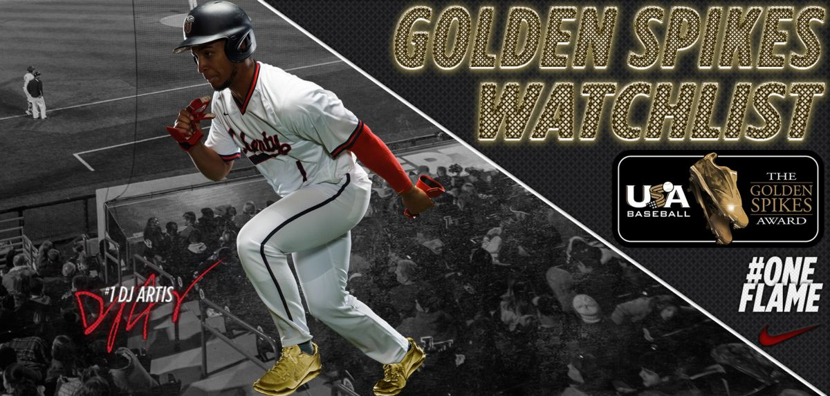 Artis Named to 2018 Golden Spikes Award Preseason Watch List