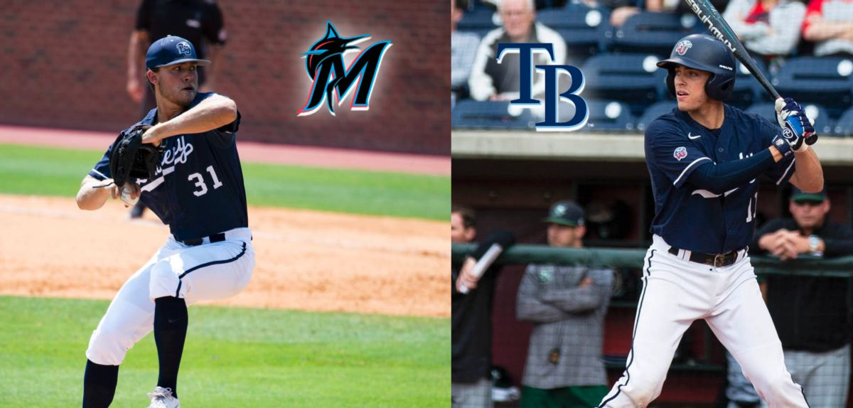 Evan Brabrand and Jonathan Embry were selected in the Major League Baseball Draft, today.