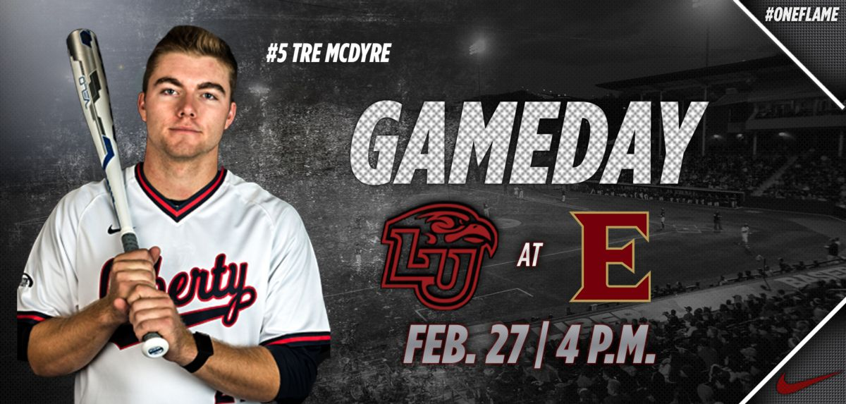 Flames Baseball Takes to Road for Contest at Elon