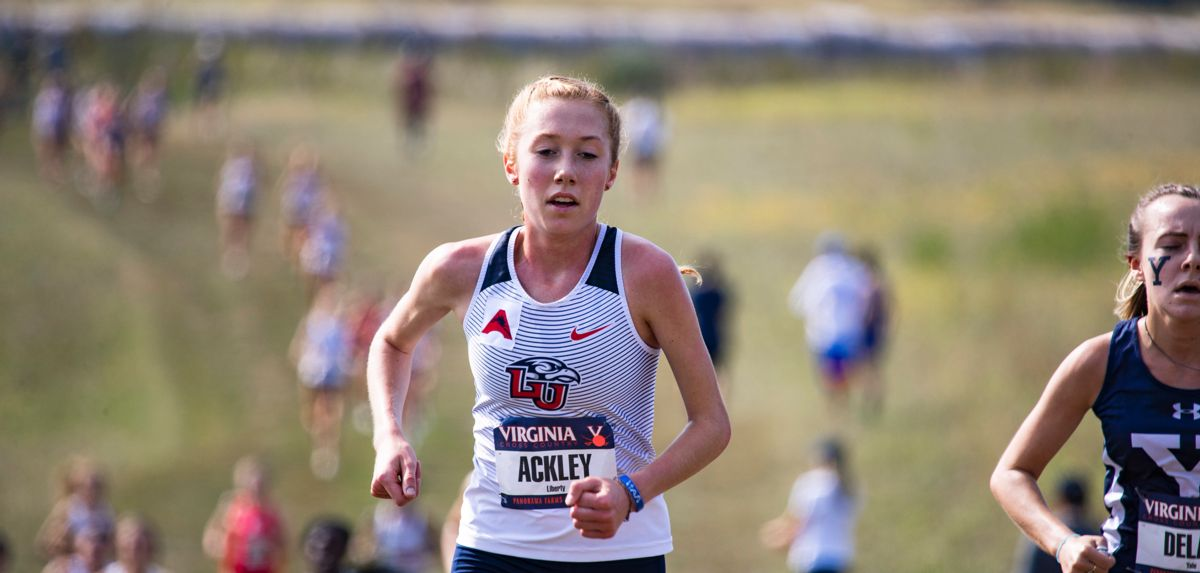 Adelyn Ackley placed 15th in Saturday's women's 6K blue race.
