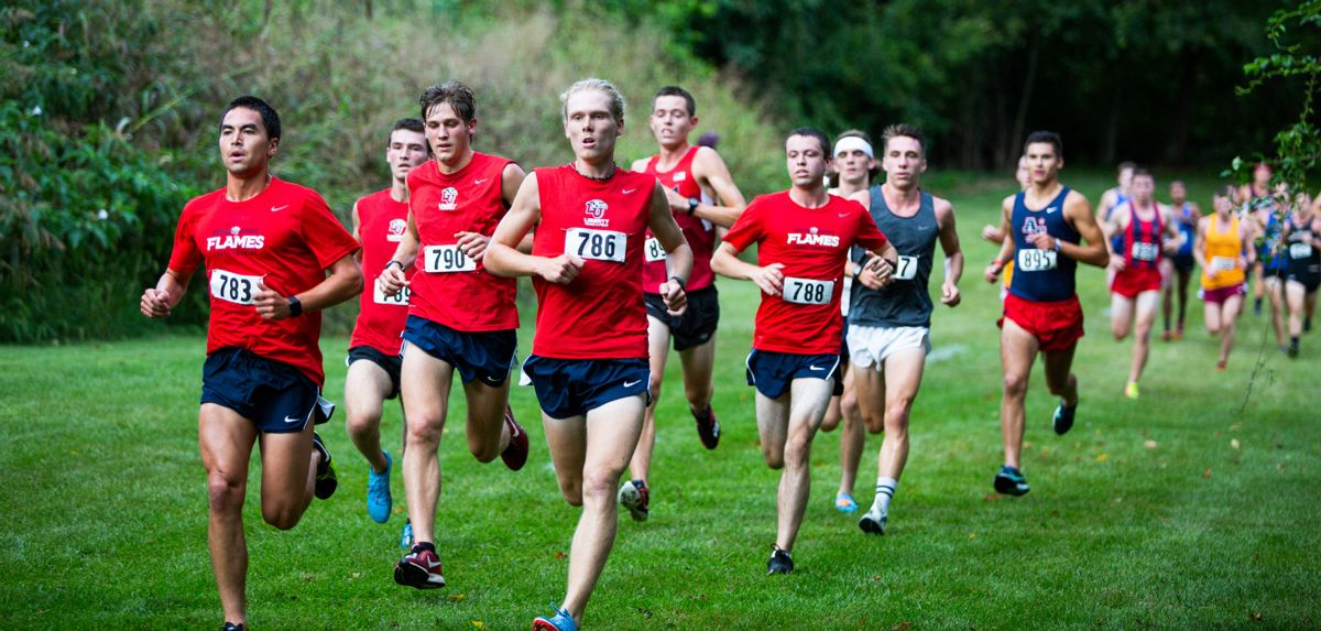 Liberty Men's XC Matches Program-Best No. 4 Regional Ranking