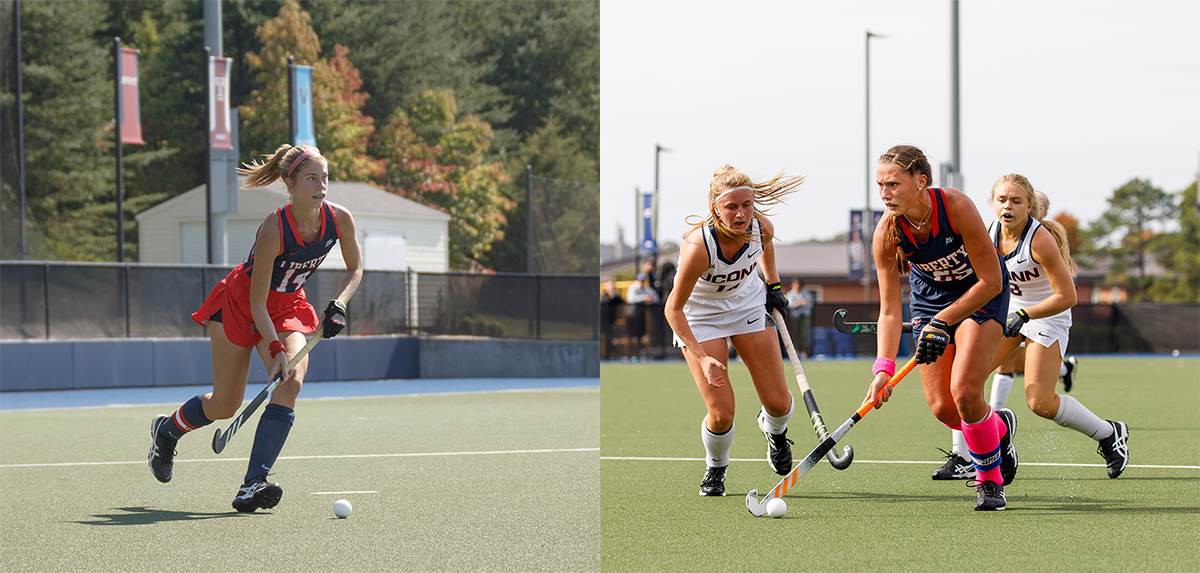 Dykema (left) and Bolton (right) both earned All-America recognition on Tuesday morning.