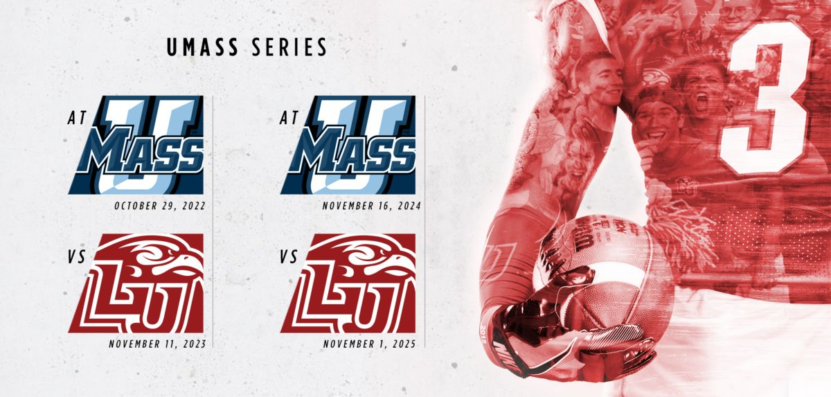 Liberty Adds Games to Football Series with UMass
