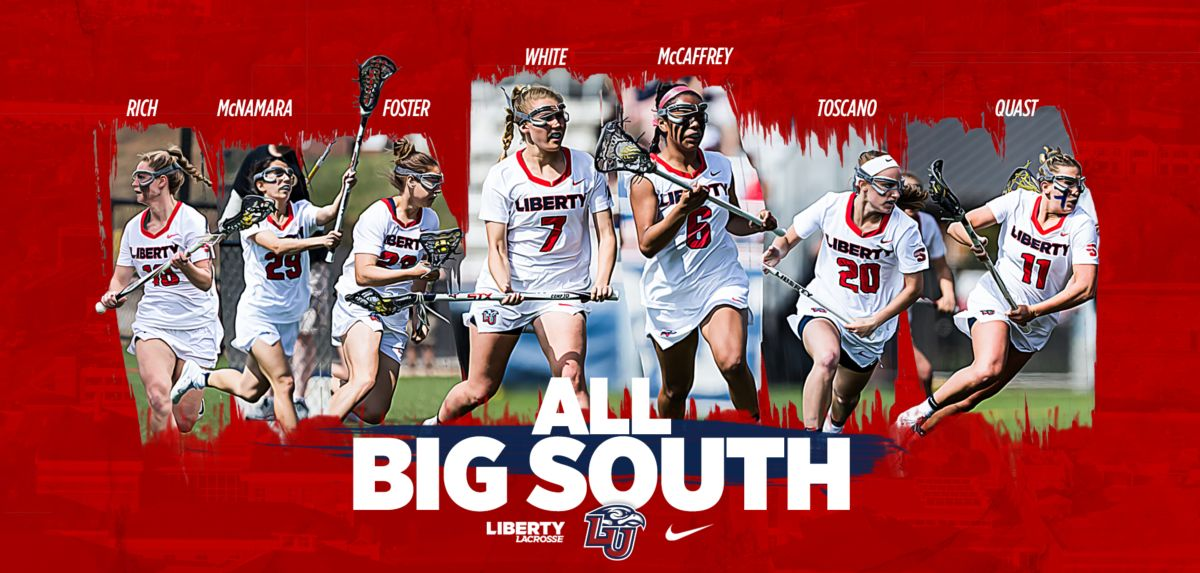 Liberty placed seven players on the Big South All-Conference teams.