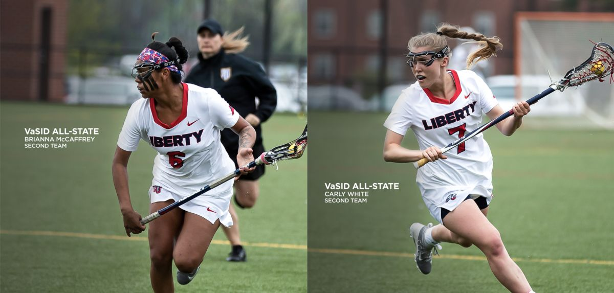 McCaffrey (left) and White (right) earned VaSID All-State second team honors, Friday.