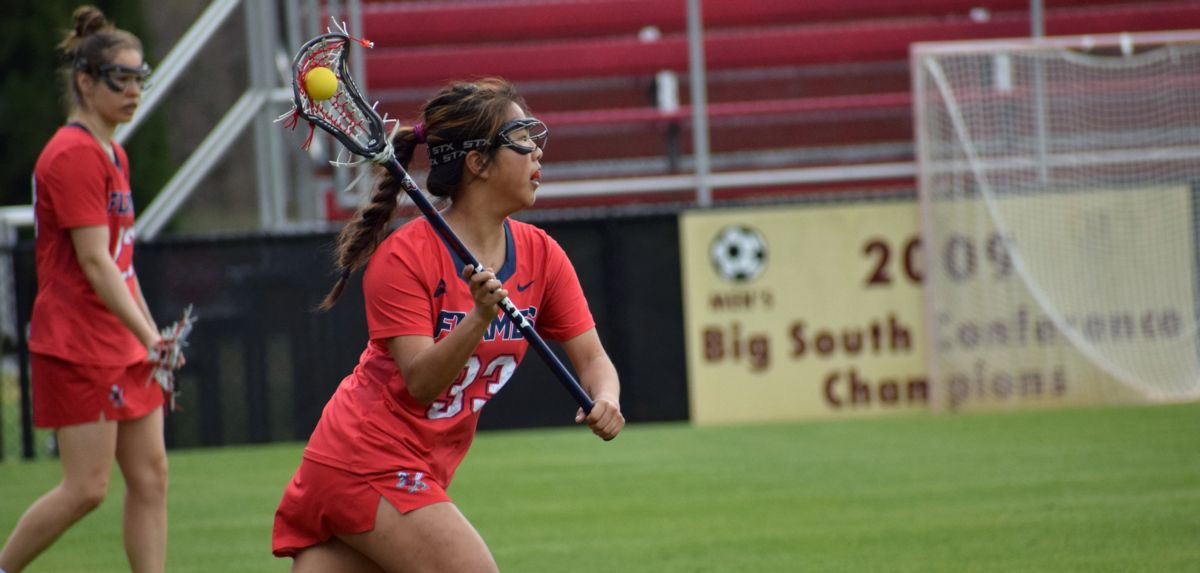 Ruby recorded her first career goal and first career assist in Liberty's 10-5 win at Winthrop, Friday.