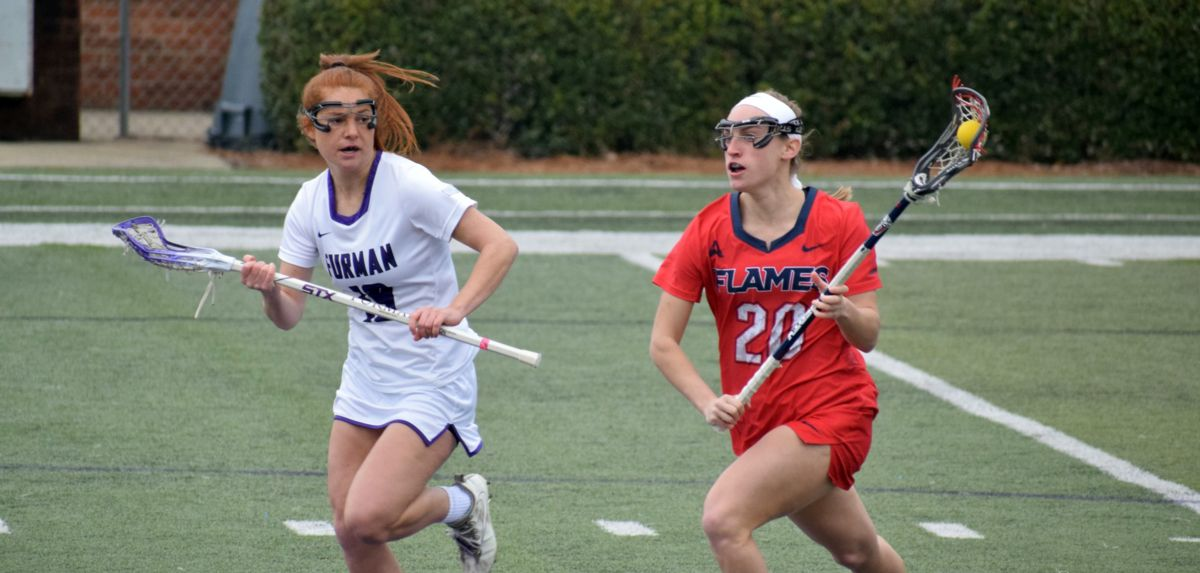Liberty scored 10 goals in the second half of a 14-10 win at Furman, Saturday.