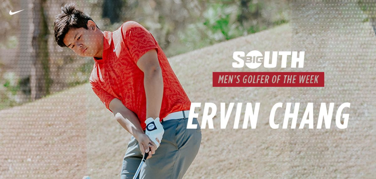 Chang Repeats as Big South Men's Golfer of the Week