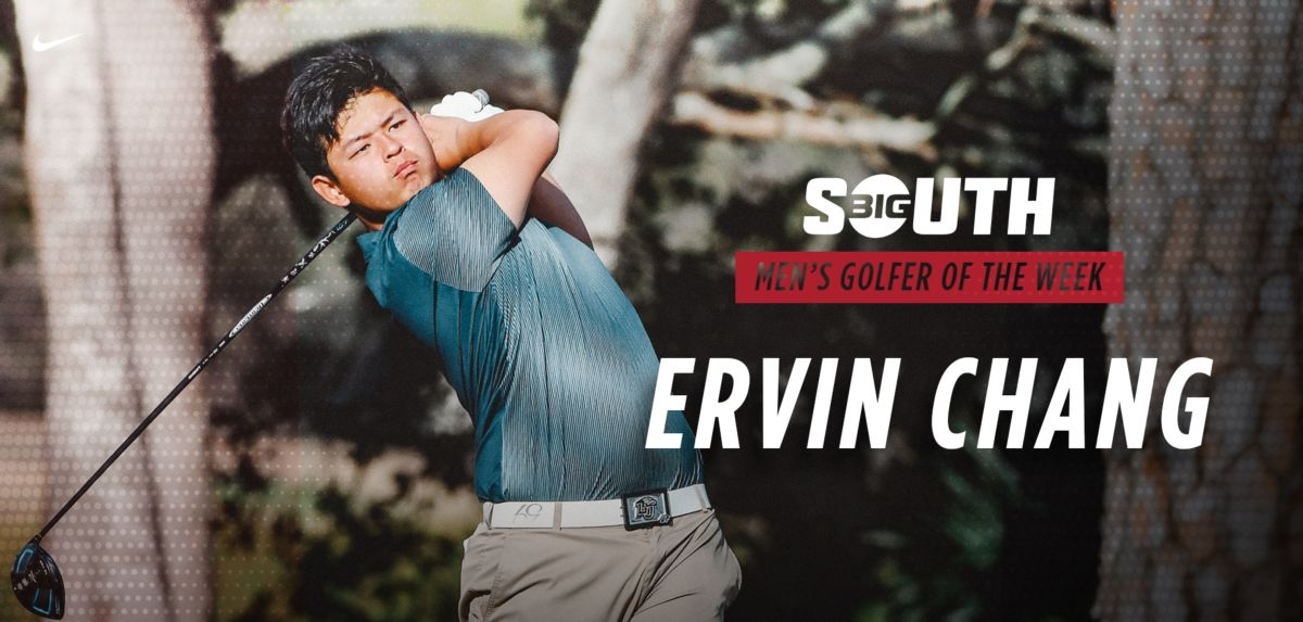 Chang Named Big South Men's Golfer of the Week