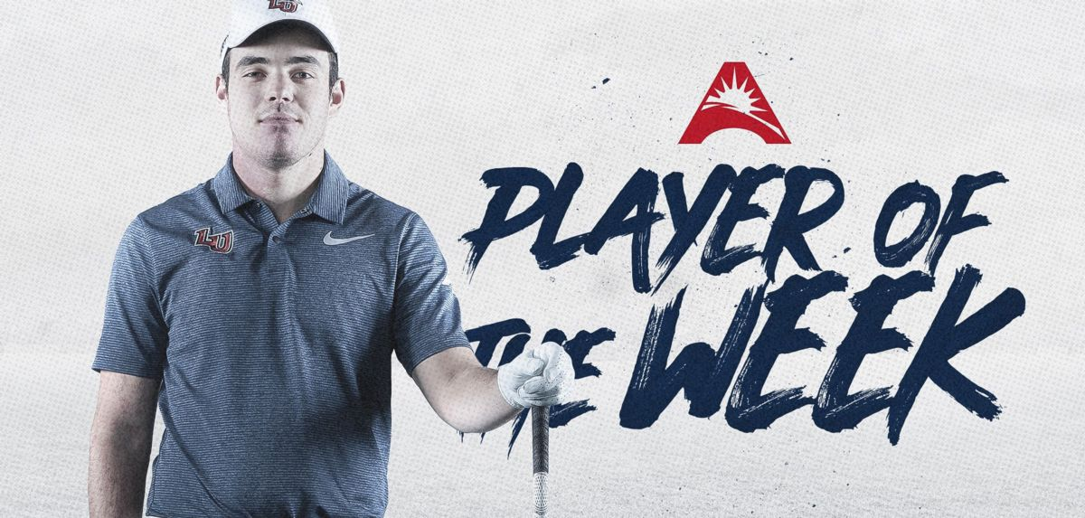 Fuchs Selected ASUN Men's Golfer of the Week