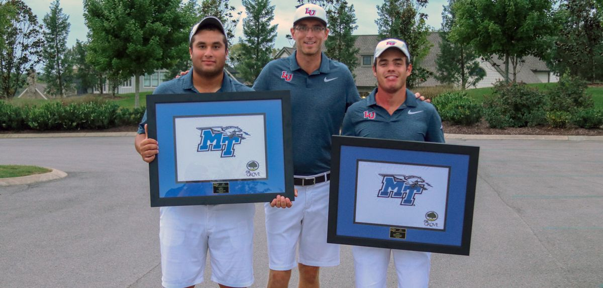 Fuchs and Lench Lead Flames to Intercollegiate at the Grove Title