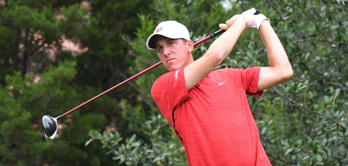 Mickey DeMorat fired a 3-under par 69 on Monday, moving the senior into a tie for third place.