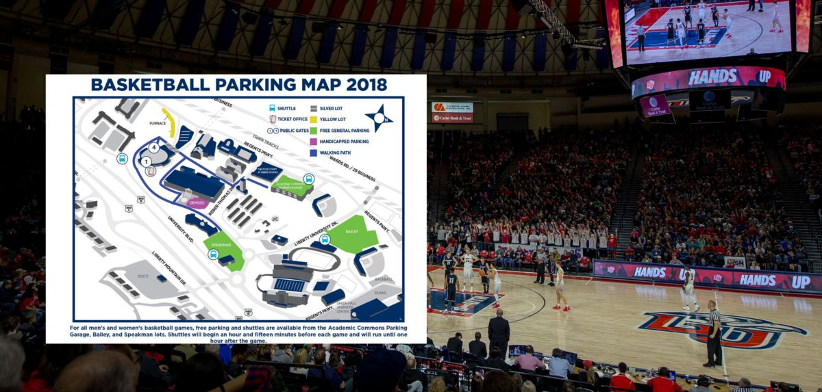 Basketball Game Day: Parking and Clear Bag Policy Information