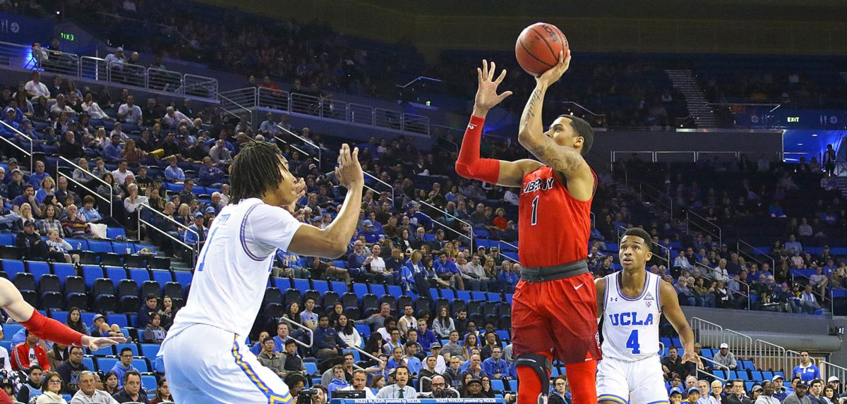 Liberty Defeats UCLA at Pauley Pavilion
